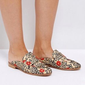Free People | Floral Brocade At Ease Mule